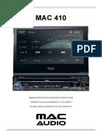 Mac Audio Mac 410 Bedienungsanleitung 2d9048