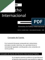 Derecho Internacional Unamba