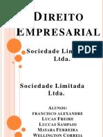 Direito Empresarial I - Sociedade Limitada