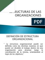 Estructura de Las Organizaciones