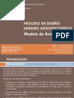 Modelo de un proceso de Diseño Urbano