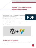 Visual Composer Cómo Personalizar Tu WordPress Fácilmente