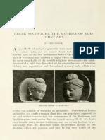 Greek Sculpture the Mother of Buddhist Art.