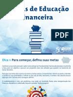 Cartilha Dicas Educacao Financeira