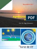 Agresiunea Solara Cutanata Decembrie 2017 PDF
