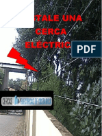 INSTALE UNA CERCA ELÉCTRICA