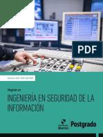 Magister en Ingeniería en Seguridad de La Información