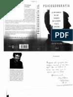 Psicogeografía. La Influenencia de Los Lugares en La Mente y El Corazón- Colin Ellard 2015