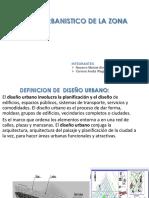 Analisis Urbanistico de La Zona