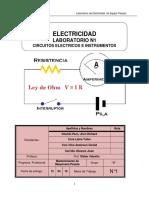 Laboratorio 01 Electricidad