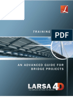LARSA 4D Advanced Training Manual for Bridge Projects