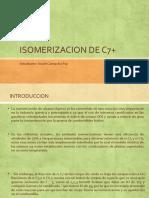 ISOMERIZACION DE C7+