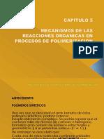 Cap. 6- Mecanismos de Polimerización-2014