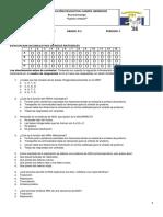 Evaluación Acumulativa 1P 9 2018