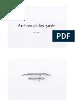 Archivo de los zafajes