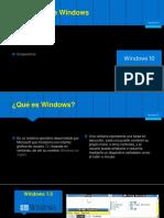 Conociendo a Windows 10