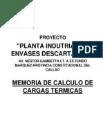 CARGA TERMICA PAMOLSA