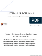 Sistemas de Potencia 2 - Tema 1