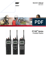 P7100 Portable Radios