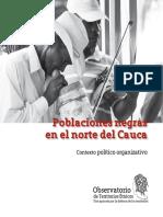 14 Poblaciones Negras Norte Del Cauca Contexto Politico Organizativo - Rojas y Vanegas