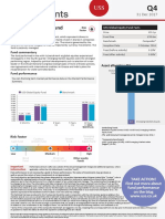 USS Global Equity Fund Factsheet