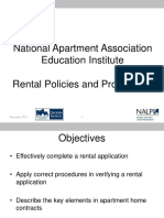 NALP Rental Policies 1213Rev PowerPoint