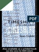 Cubitt Sean Timeshift on Video Culture