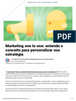 Marketing One to One_ o Que é e Como Personalizar Sua Estratégia