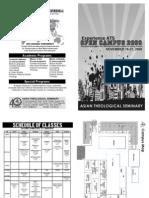 ATS Open Campus 2009 Brochure