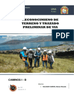 Informe N° 1 - Reconocimiento del Terreno