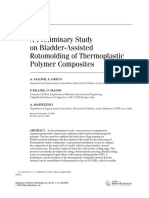 A Preliminary Study on Bladder-Assisted Rotomolding of Thermoplastic Polymer Composites