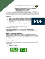 ENSAYO N°01 RIESGOS EN EL LABORATORIO DE TERMO
