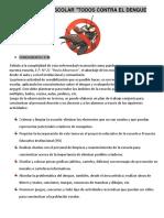 Proyecto Institucional Dengue