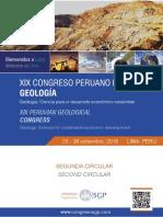 XIX CPG _ Segunda Circular