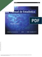 Manual de Estadística (Pg 1 37)
