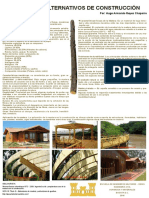 Poster Construcción Madera