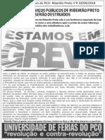 Boletim informativo do PCO de Ribeirão Preto