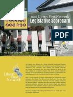 LFN 2016 Legislative Scorecard