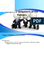 Chapter 2 Obligations of the Partners