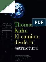Kuhn. El Camino Desde La Estructura.