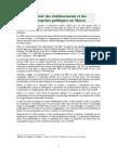 Secteur Des Etablissements Et Des Entreprises Publiques Au Maroc