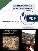 Konsep Kependudukan Di Indonesia
