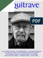 2011-03-ARQUITRAVE-Revista colombiana de poesía- # 50-José Manuel Caballero Bonald.pdf