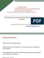 Elena Valente Escritura y Rp en Nivel Superior