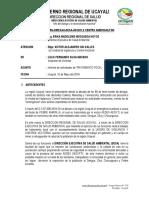 Modelo de Informe - Inspectores