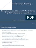 4.2 160510 - Solar Bankability EU - Managing Financial Risks in PV Assets During Project Development and Operation - Final