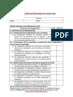 13- Lista de Verificacion Norma Iso 450012018