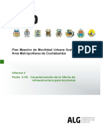 PMMUS 2015 - Caracterización Infraestructura Ciclista AMC
