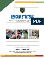 1.Renstra Dinas Kesehatan Provinsi Lampung 2015 2016