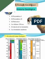 Escala Del Teimpo Geologico
